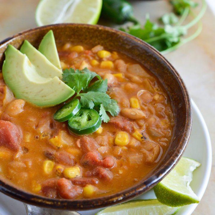 White Bean Vegan Chili