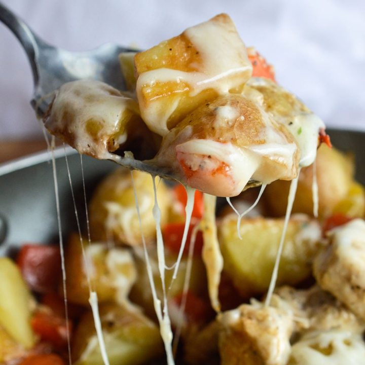 Cheesy Potato Chicken Dinner
