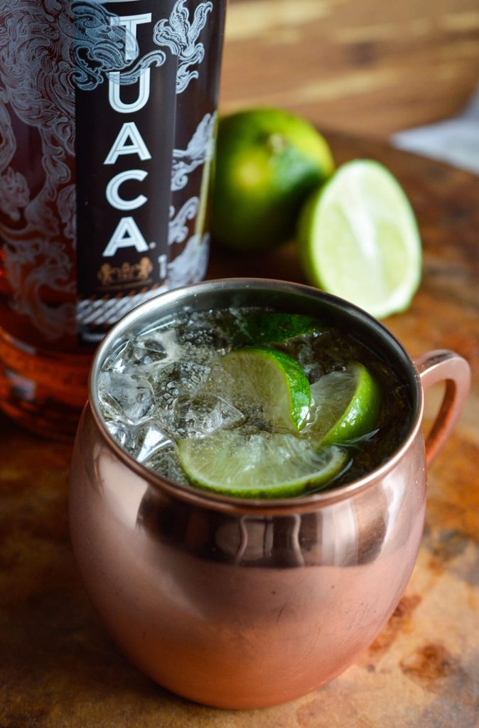 Tuaca Mule Cocktail