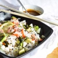 California Roll Sushi Bowl