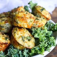 Baked Kale and Quinoa Bites