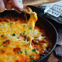 Easy Cheesy Chili Dip