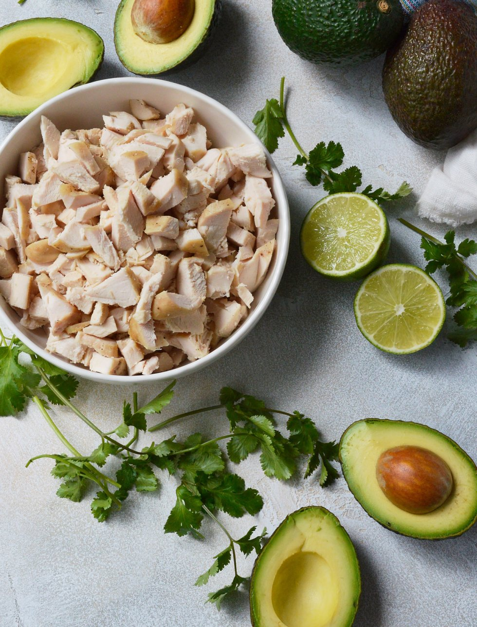 Wanting to eat healthy and nutritious without giving up your favorite foods? This Bacon Avocado Chicken Salad Recipe is full of flavor, healthy fats and is Whole30 friendly.