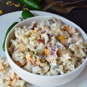 Jalapeño Popper Macaroni Salad Recipe