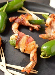 Bacon Wrapped Shrimp (Whole30, Paleo)