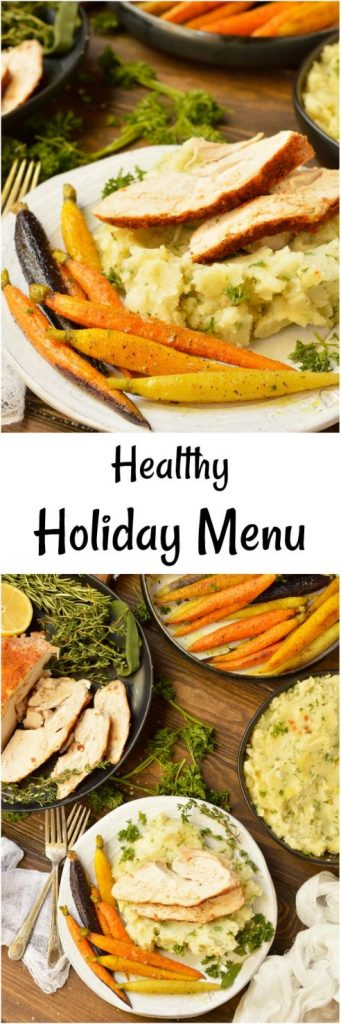 No need to bust out those stretchy pants for the holiday feasts! Here are some Healthy Holiday Recipes for your menu. Get a jump start on those New Year's resolutions with these healthy, Whole30, Paleo friendly recipes! #whole30recipes #paleorecipes #healthyrecipes