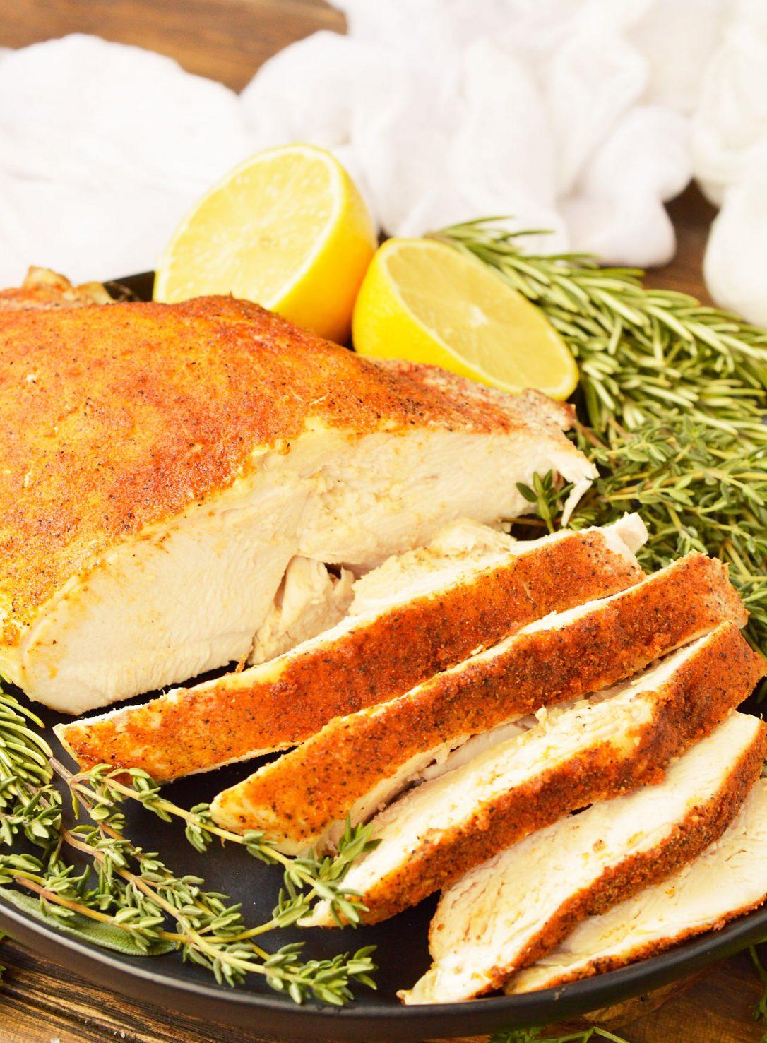 Slow Cooker Turkey Breast Paleo, Whole30 - Wonkywonderful-6893