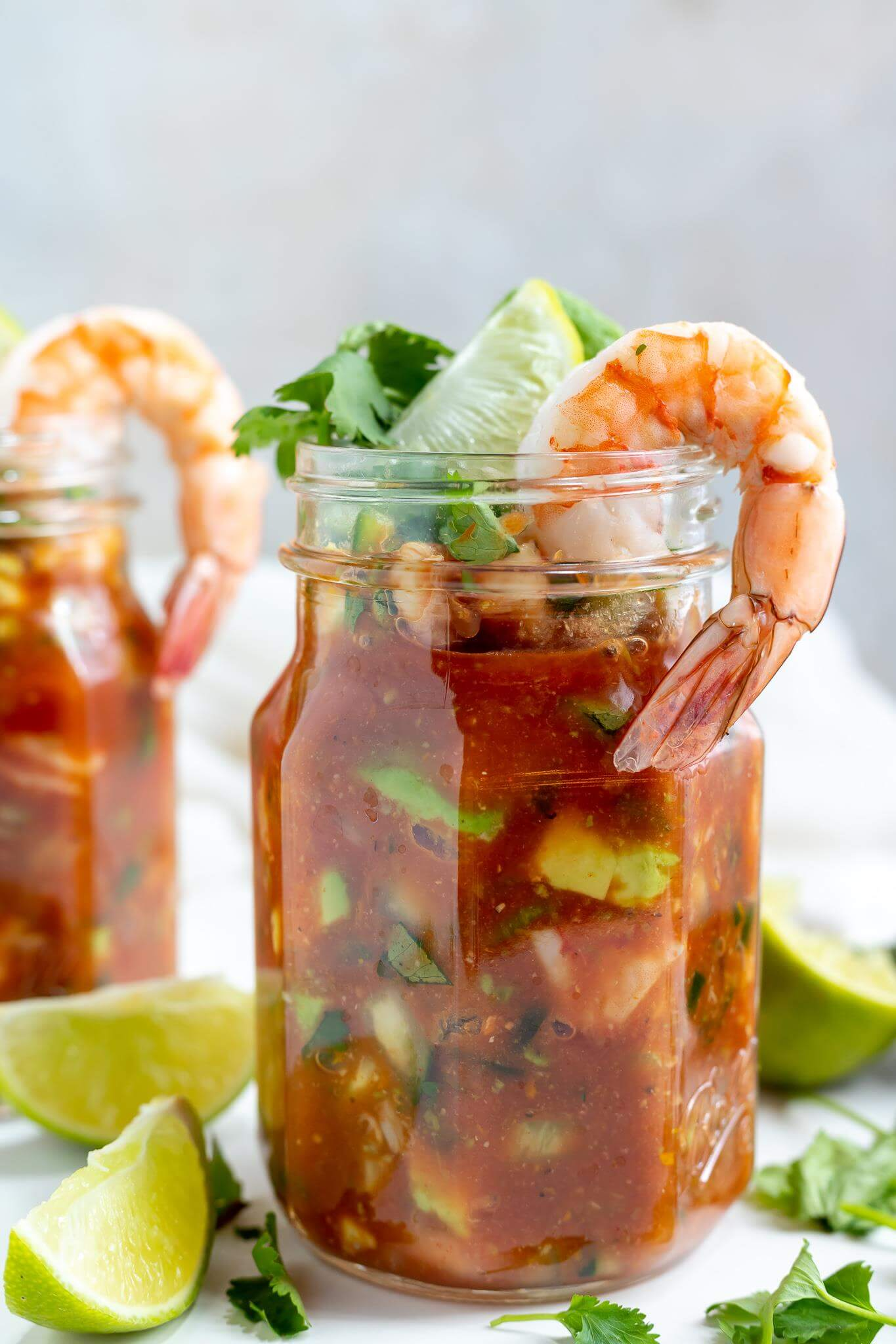 Mexican Shrimp Cocktail Recipe Wonkywonderful