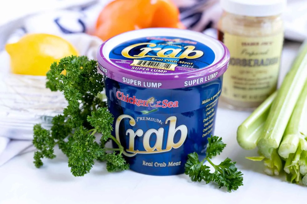 ingredients for cold crab dip recipe