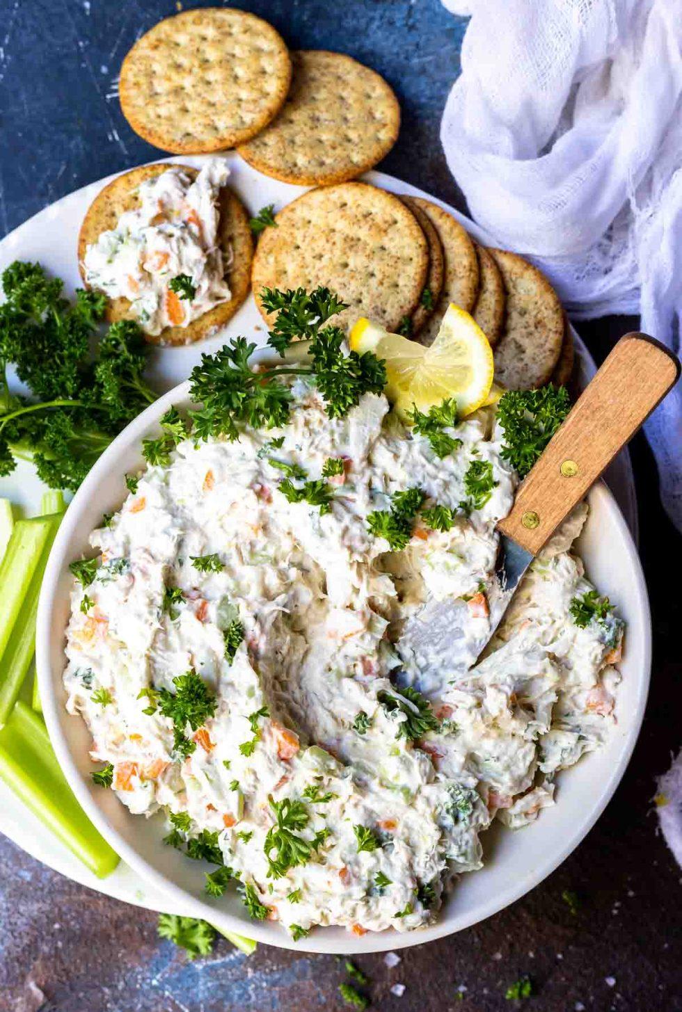 Crazy Good Cold Crab Dip Recipe Wonkywonderful
