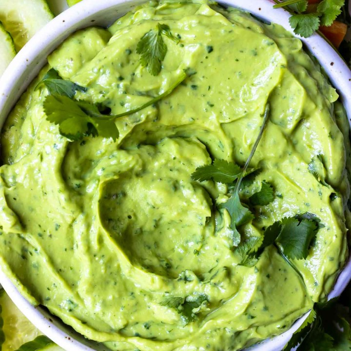 Creamy Avocado Dip Recipe