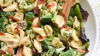 Lemony Tortellini Broccoli Salad