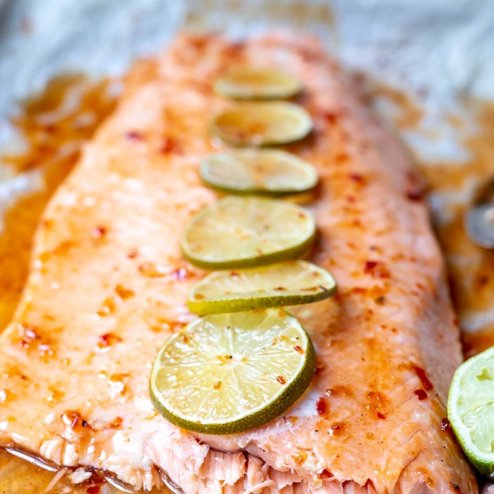 Chili Lime Salmon Oven Baked