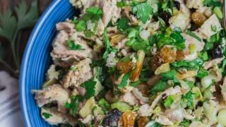 Healthy Chicken Salad, Mediterranean Style