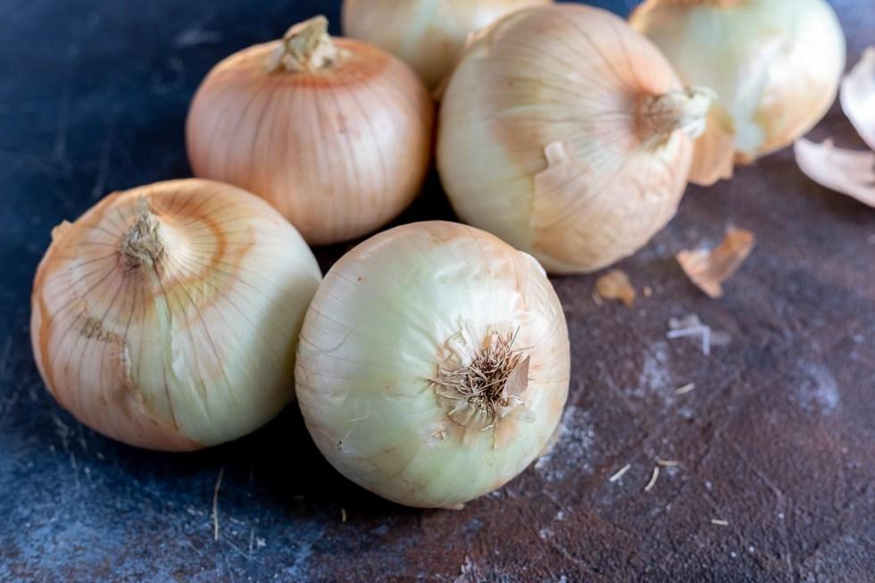whole Vidalia onions