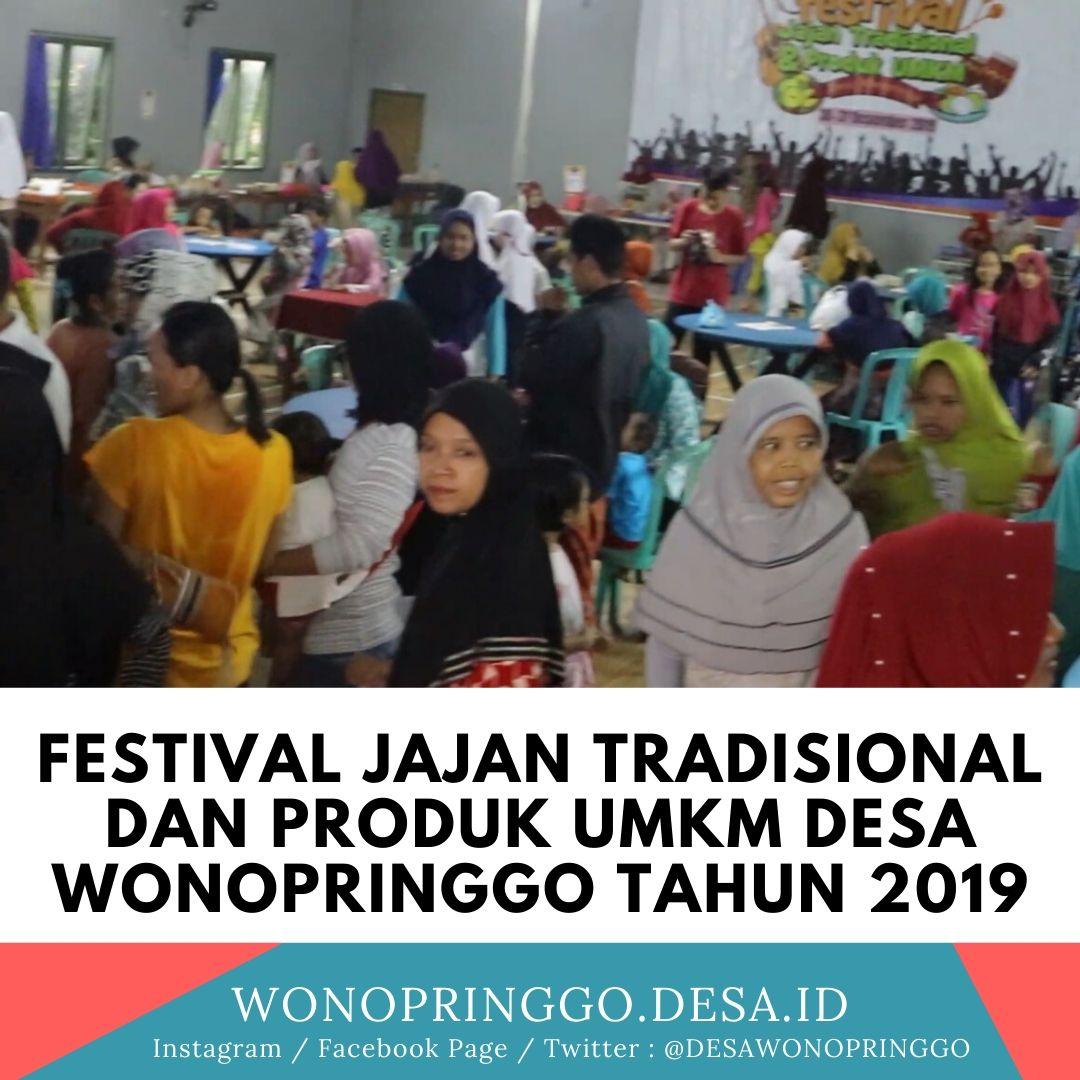 Festival Jajan Tradisional dan Produk UMKM Desa