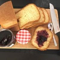 Brioche loaf (bread machine)