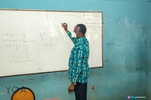 Education Minister picks marker to teach Algebra at Super KASS during a surprise visit - (Photos). 59