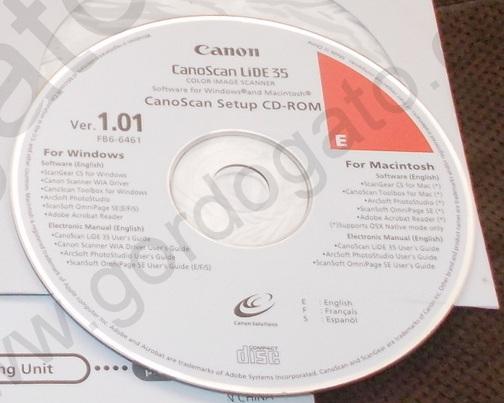 Драйвер windows 7 canoscan lide 35