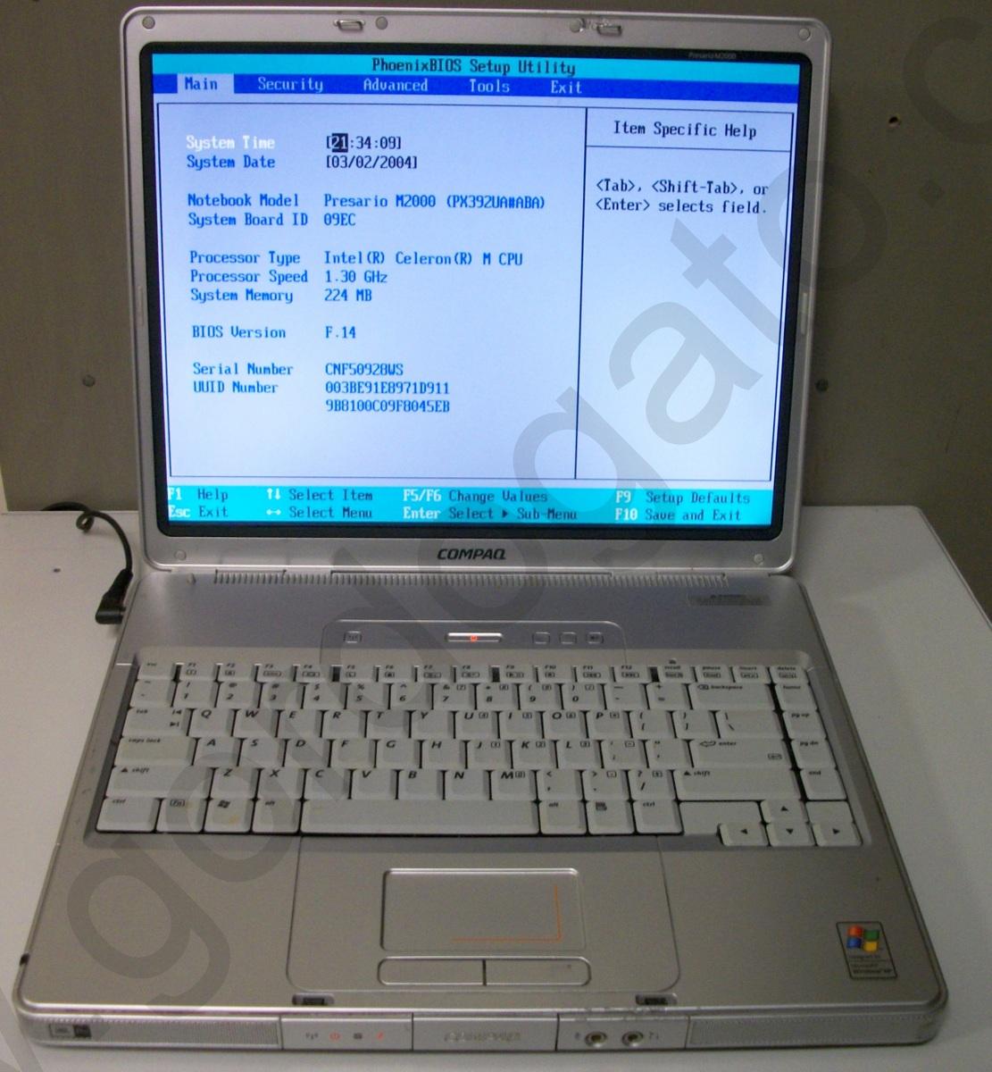 HP Compaq Presario ...