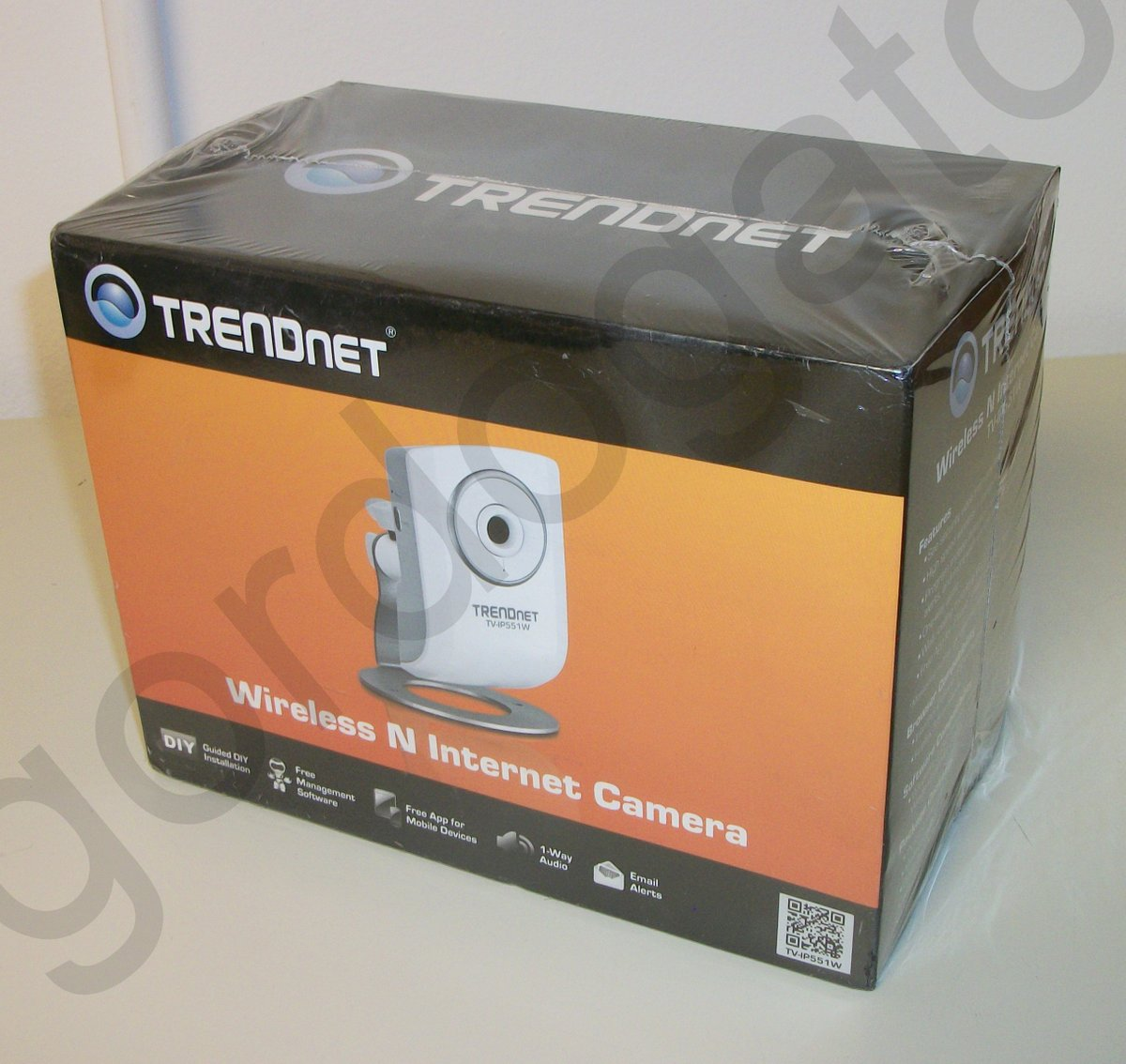 New TrendNet TV-IP551W Wireless N Internet IP Security Camera Home