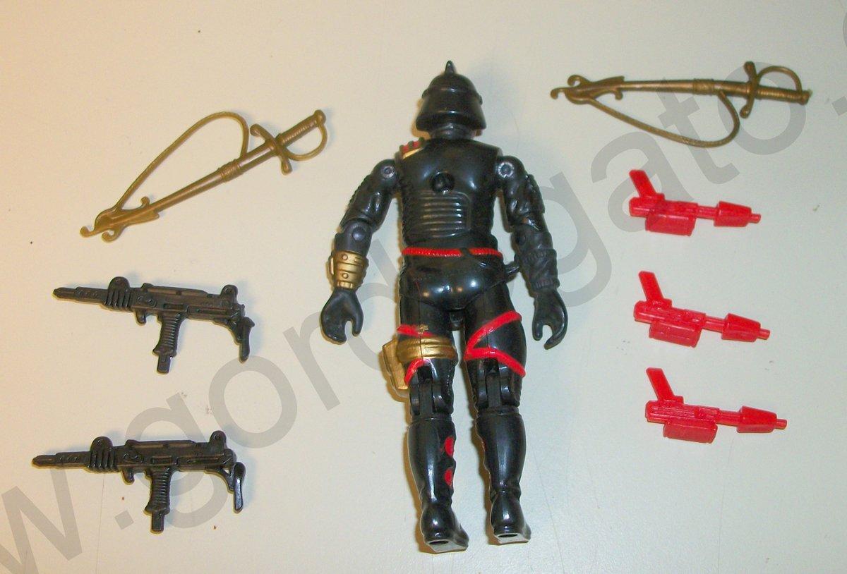 GI Joe Weapon Blizzard Backpack 1988 Original Figure Accessory