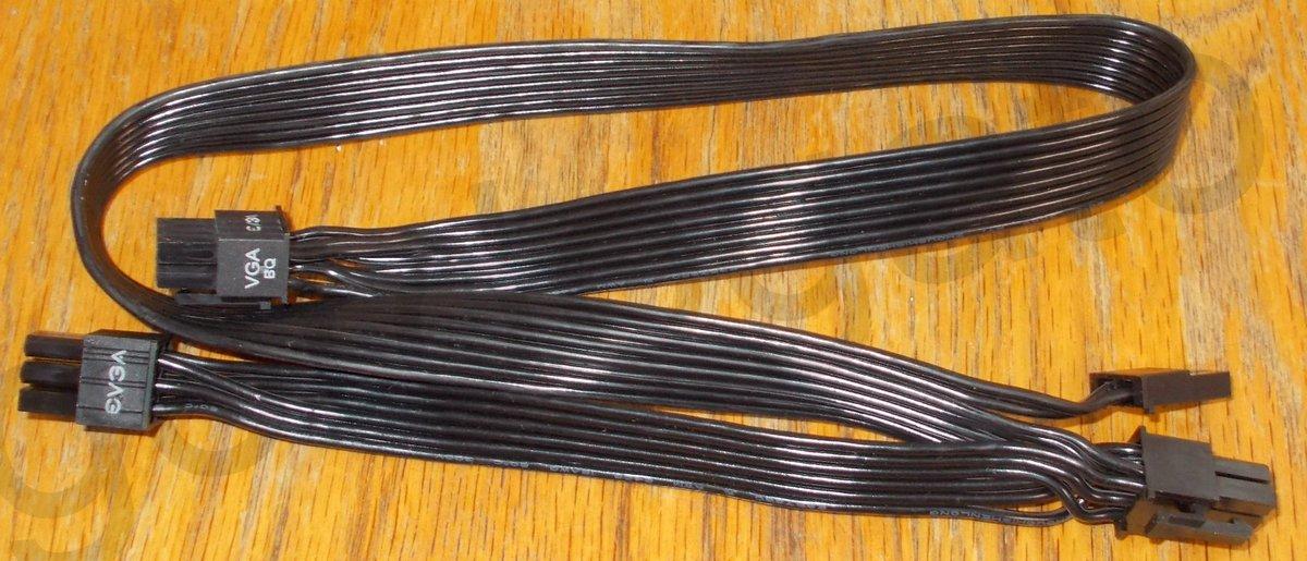 EVGA Modular 1 VGA /> 2 VGA Adapter Power Connector for Modular PSU