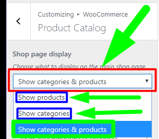 WooCommerce SEO - On Product Archive Pages Is it Best to show Products Categories or BOTH