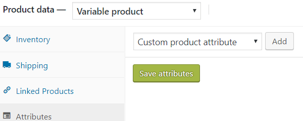 correctly building woocommerce variable products