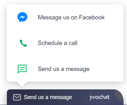 Connect Jivo's Live Chat to your Facebook page