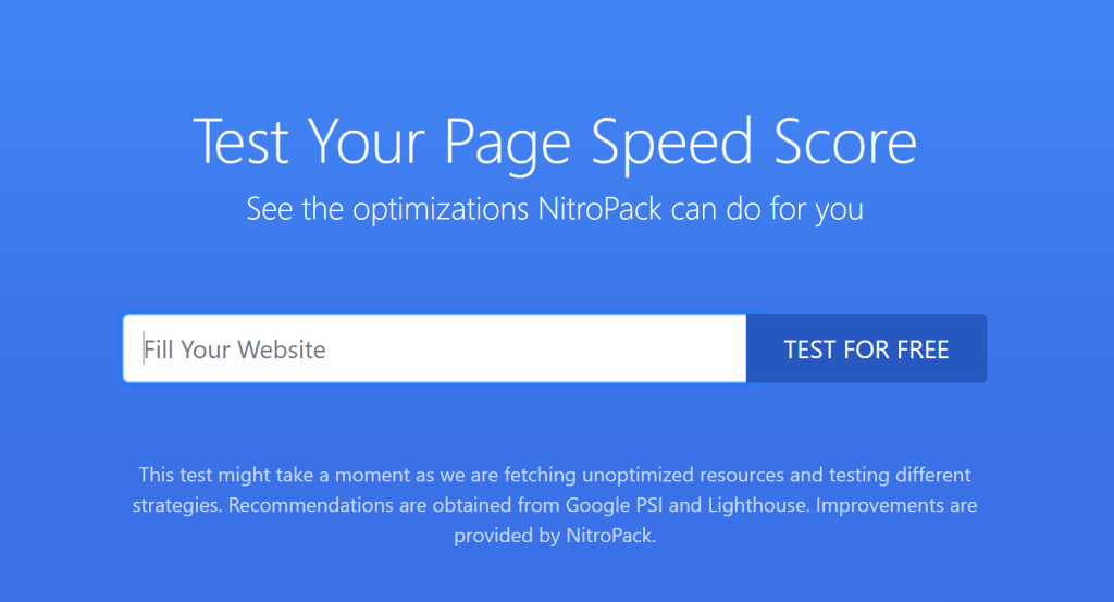Speed Up WordPress with NitroPack WordPress Plugin
