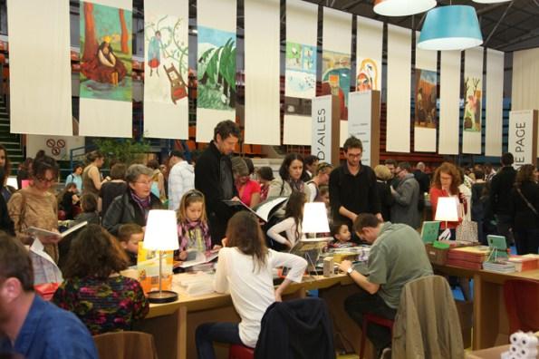 Fête du livre 2012 - crédit photo Fete du Livre Jeunesse de Villeurbanne