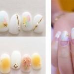 ♥ 白色搭配!簡約純淨的白色指甲