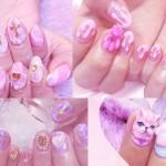 ♥ 少女的粉紅世界!日本美甲師的夢幻店面