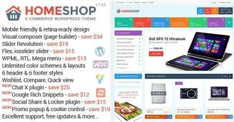 Home Shop - WooCommerce Theme