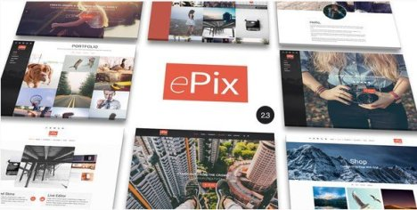 ePix - Fullscreen Photography WordPress Theme