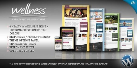 Wellness - A Health & Wellness WordPress Theme