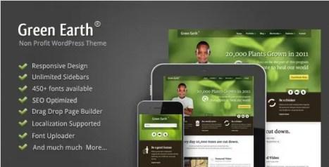 Green Earth - Environmental WordPress Theme