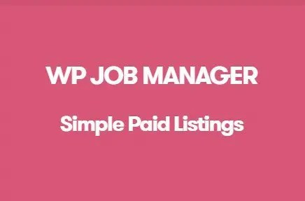 WP Job Manager Simple Paid Listings Addon