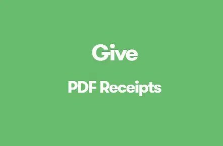 Give PDF Receipts