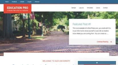 StudioPress Education Pro Theme