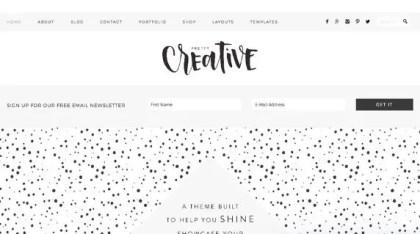 StudioPress Pretty Creative Theme