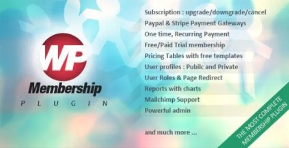 WP Membership WordPress Plugin