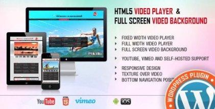 Video Player & FullScreen Video Background - WP Plugin