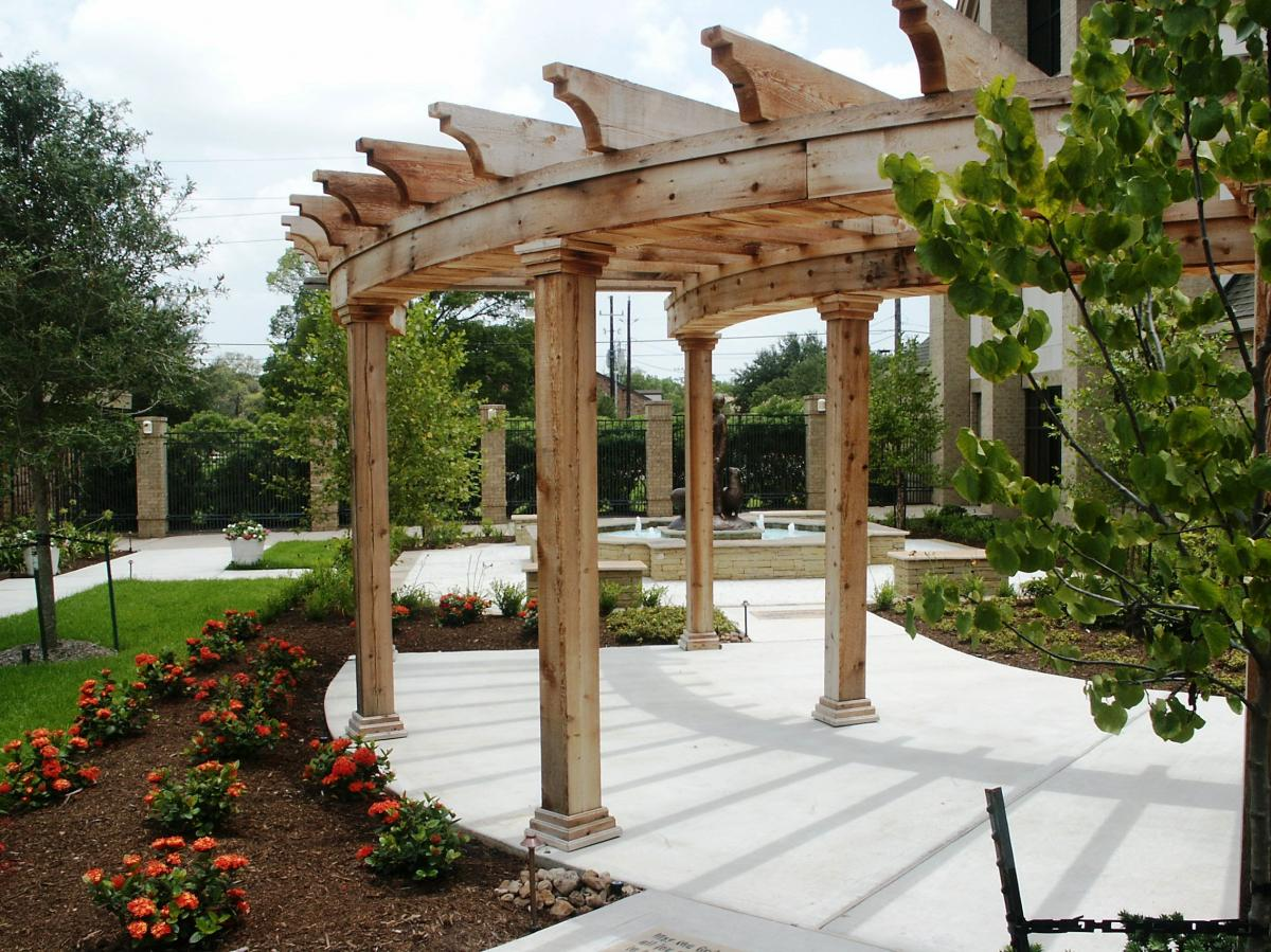 Arbors Amp Pergolas Wood Crafters