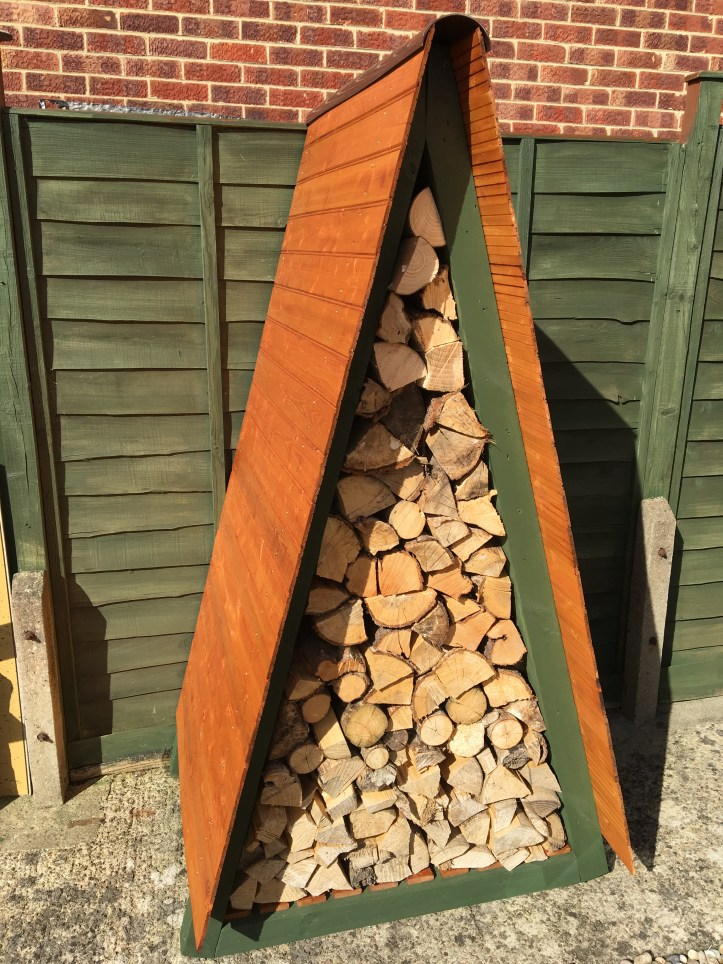 how to build your own wood store