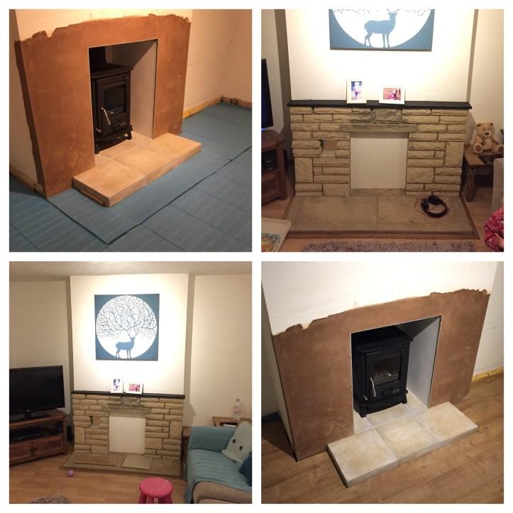 fire place laminate flooring