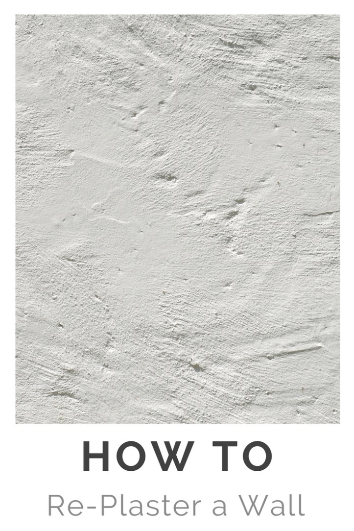 How to Re-Plaster a Wall