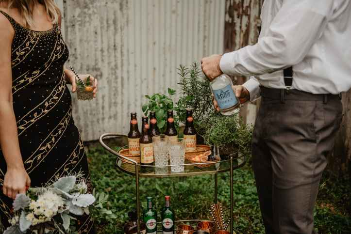 Bring the holiday to your garden with backyard bar