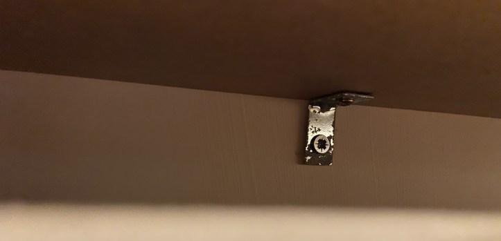 radiator cover bracket